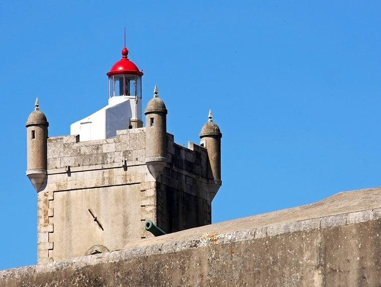 Lighthouse fortress of St. Julian's bar